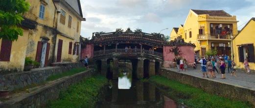 Ponte xaponesa en Hoi An.