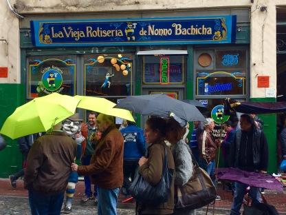 A choiva desluciu o mercado.