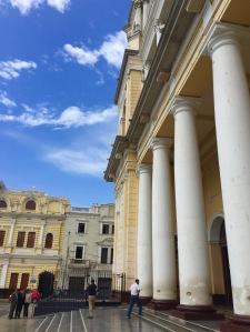 Catedral e Casa do Concello de Chiclayo.