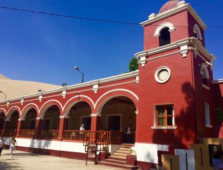 Restaurante en Huacachina