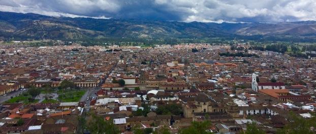 Cajamarca dende o Cerro Santa Apoonia