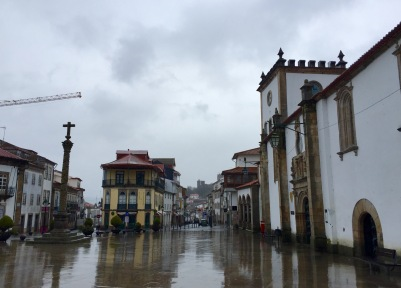 Praça da Sé en Bragança