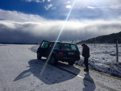 Fuxindo da neve
