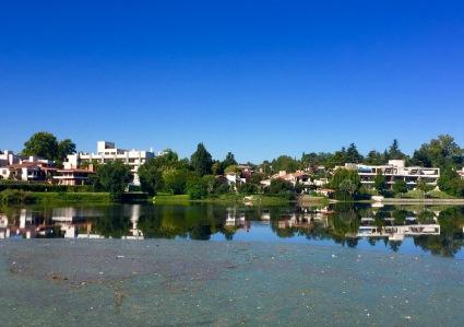 O lago en VCP