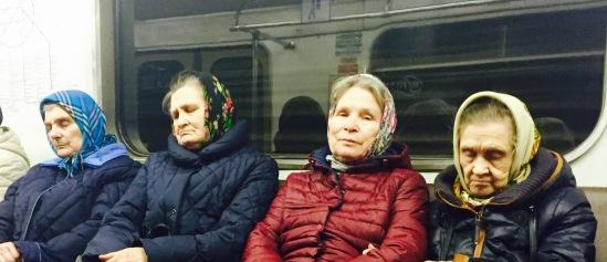 As miñas compañeiras de metro