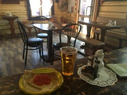 Bliný de caviar de salmón, a miña dieta en Rusia