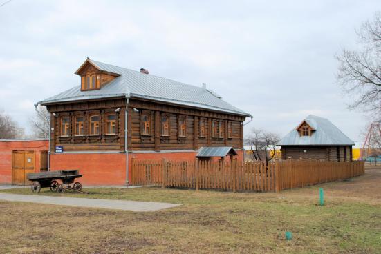 Vivenda da Rusia rural