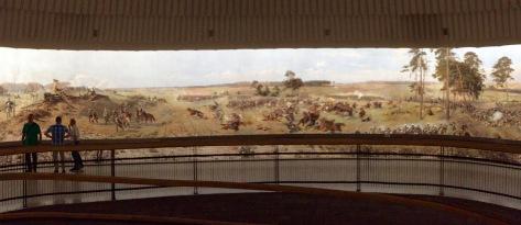 Pintura panorámica da Batalla de Raclawice