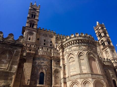 Fachada absidal da Catedral