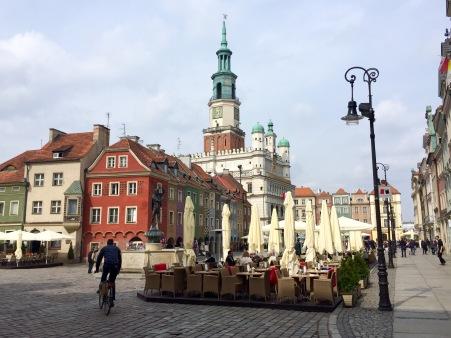 Praza principal de Poznan