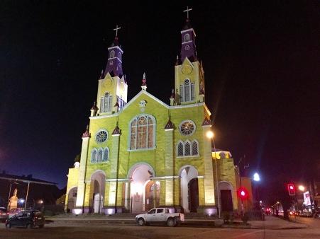 Interior e exterior da Catedral de Castro