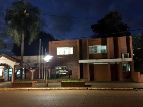Casa do Concello en Puerto Iguazú