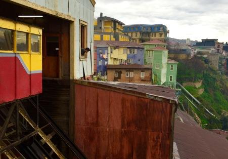 Funicular en Valparaíso
