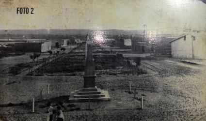 Imaxe do museo sobre o aspecto da cidade a comezos do S. XX