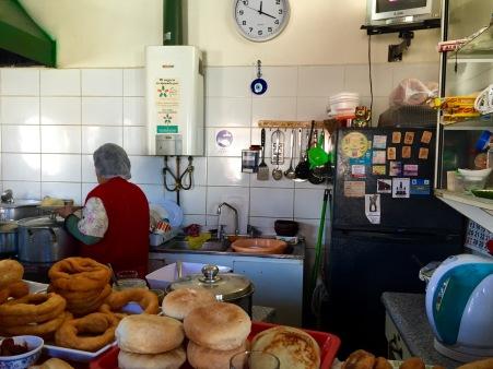Cocinería en Dalcahue