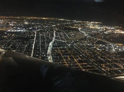 Aterrando de noite no Gran Bos Aires