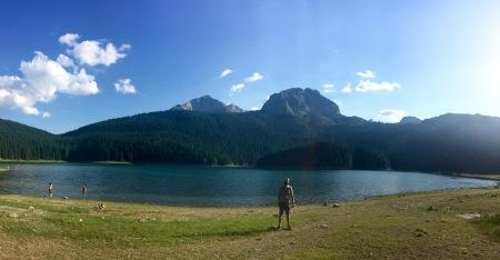"""Lago Negro e pico Meded """"O Oso"""""""
