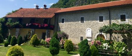 Parte conventual do mosteiro Moraca