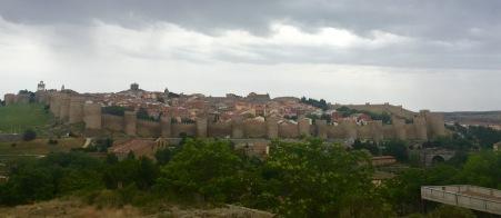 Vista dende o miradoiro de Los Cuatro Postes