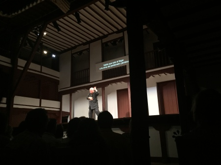 Steven Berkoff no Corral de Comedias