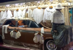 Tenda de roupa en Rosario (Arxentina)