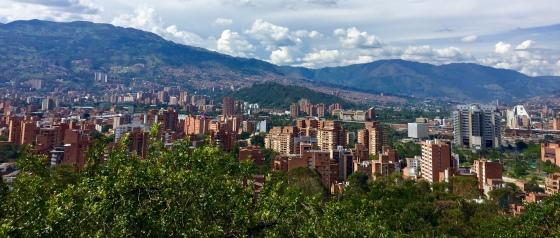 Panorámicas dende o Cerro Nutibara
