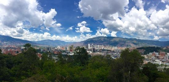Panorámica dende o Cerro Nutibara