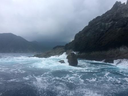 O mar ameazante