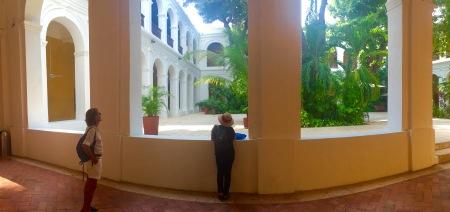 Patio do Palacio de la Inquisición