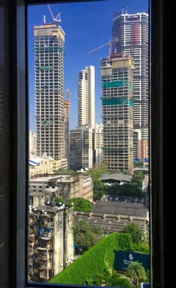 Dende a miña fiestra en Bombai