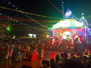 Celebración do Deepavali