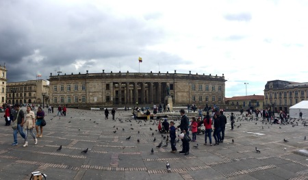 Capitolio Nacional en Plaza de Bolivar