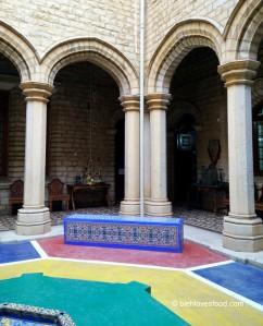 Agasallos de Alfonso XIII no pazo de Bangalore. Imaxe cortesía de Google