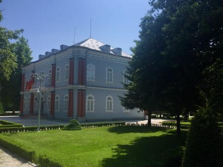 Pazo Azul, residencia oficial do Presidente de Montenegro